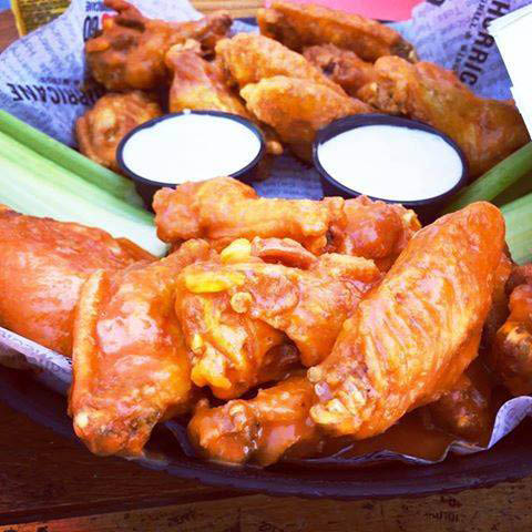 Wonderful wings with wild to mild sauces, rubs and glazes