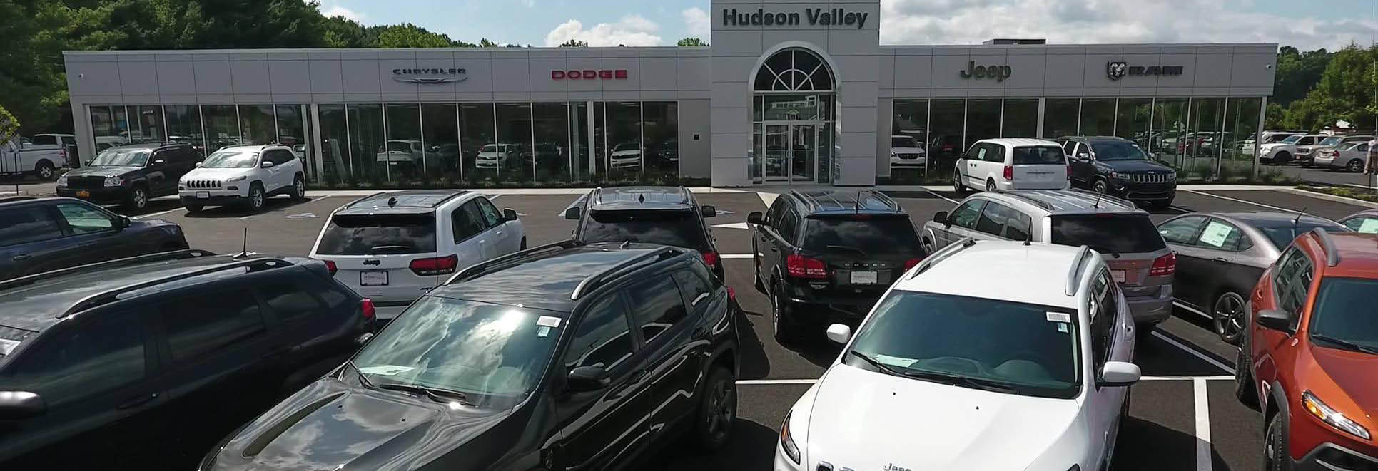 Hudson Valley Chrysler Dodge Jeep Ram in Newburgh, NY Banner ad