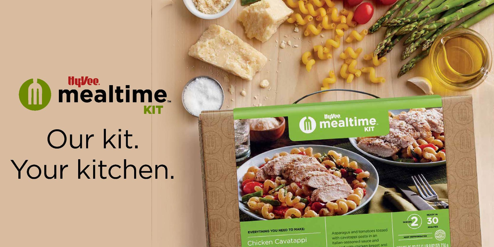 Meal kit from HyVee