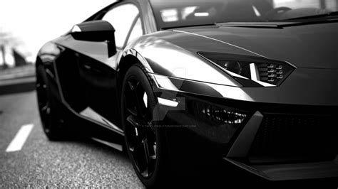 sleek black sports car; auto body repair in Palm Springs, CA