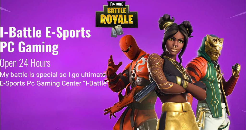 i-Battle E-Sports PC Gaming, Grand opening, Fortnite, PC Gaming, Centreville, VA