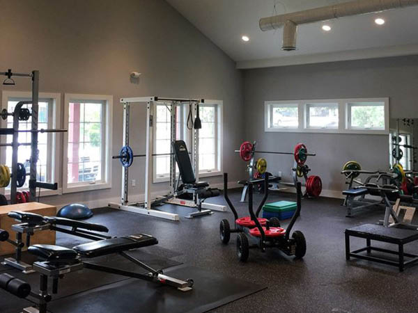 IFS Individual Fitness Solutions weight room