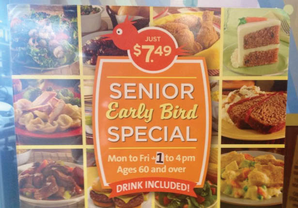 golden corral in frederick, md senior special.