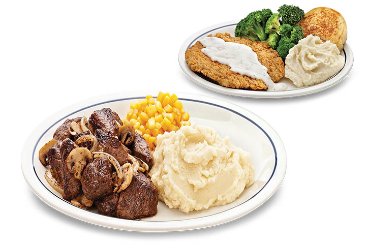 ihop diner dinner options toledo ohio