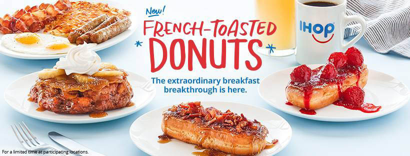 Donuts at IHOP in Cedar Rapids