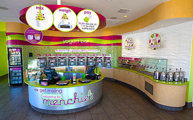Inside Menchie's Frozen Yogurt St. Paul, MN