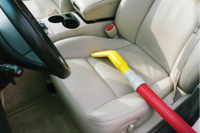Allow us to vacuum your auto's interior including car seats