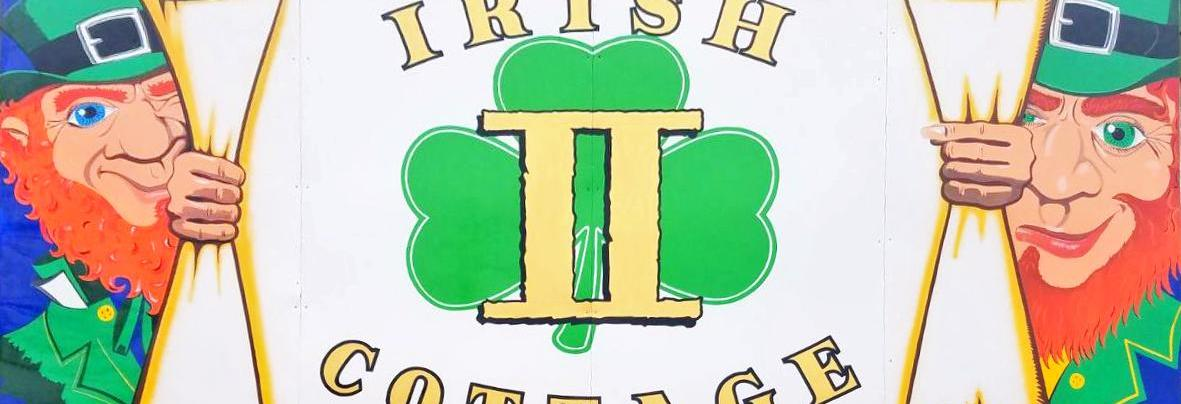 Irish Cottage Muskego WI Banner