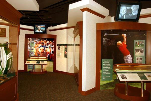 The Jack Nicklaus Museum memorabilia