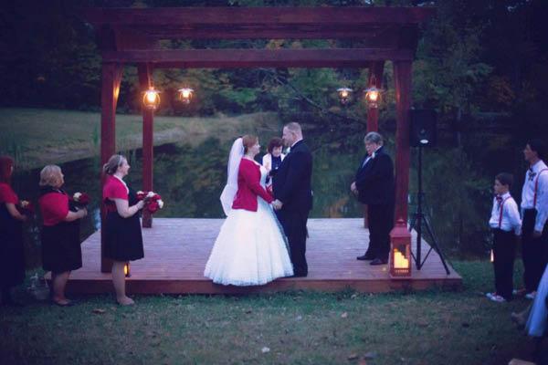 Jackson Lake Campground wedding venue