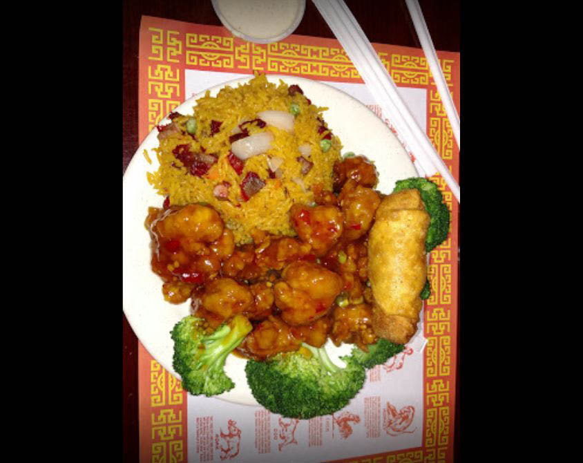 Chinese restaurant near Okatie