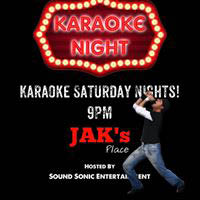 Saturday nights just got better at Jak's Place!