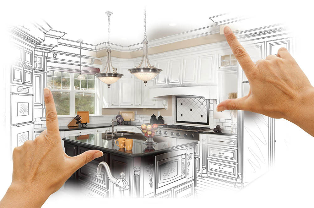 J & A can create a custom kitchen design specific to your needs