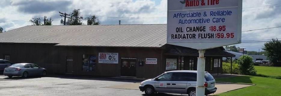 Jax Auto & Tire in Crystal Lake, IL banner