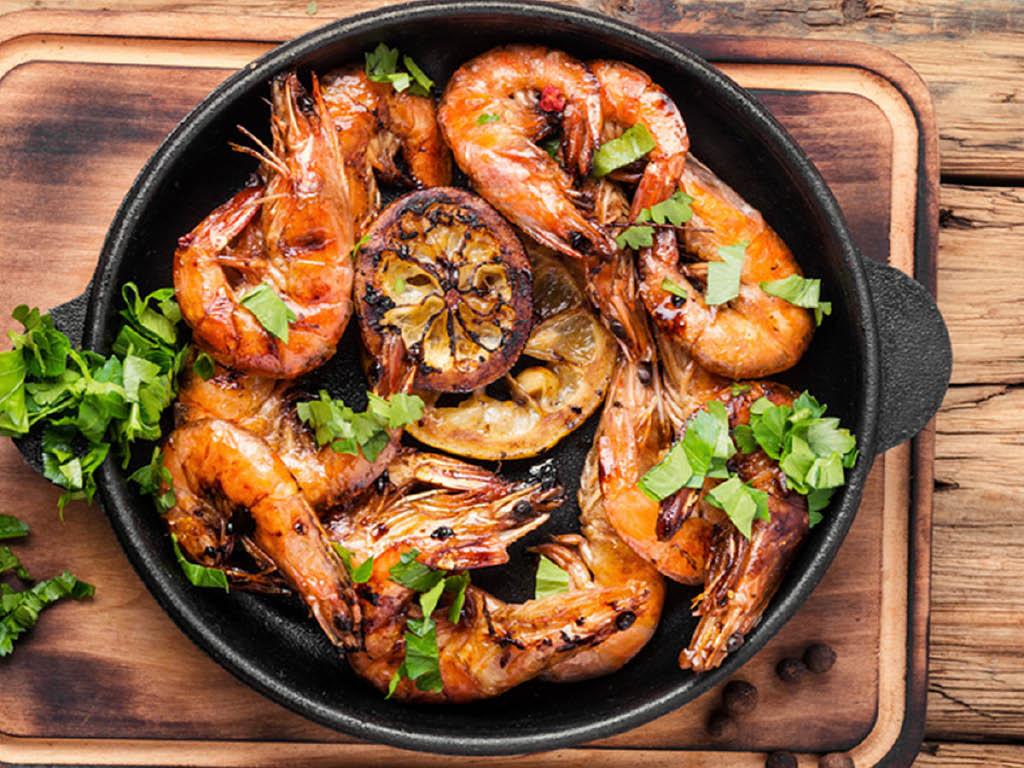 Jay's Crab Boil & Oyster Bar shrimp pot