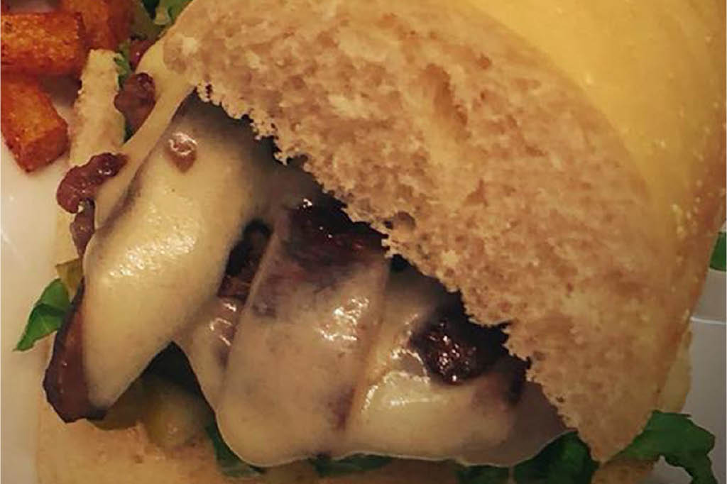 JB's Downtown Grill sandwich