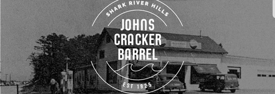 John's Cracker Barrel banner
