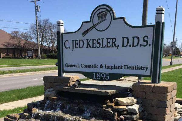 Jed Kesler, DDS Family Dentistry sign