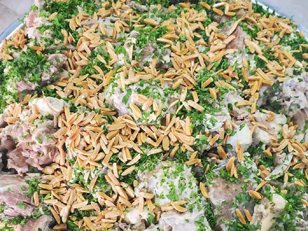 Jerusalem Grill & Catering fresh greens