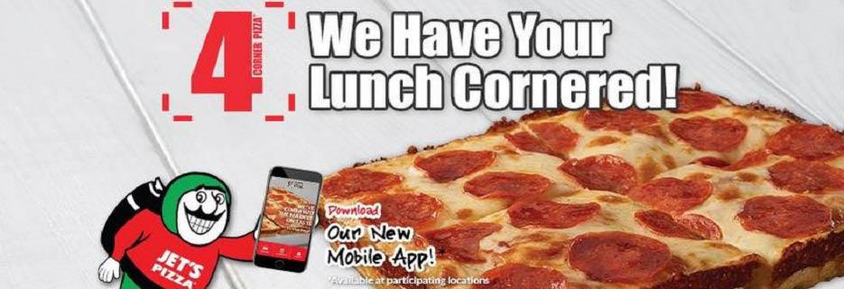 Jet's Pizza in North Charleston Banner Ad