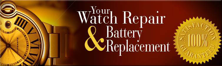 The Jewelry Boutique watch batteries and watch repair specialists
