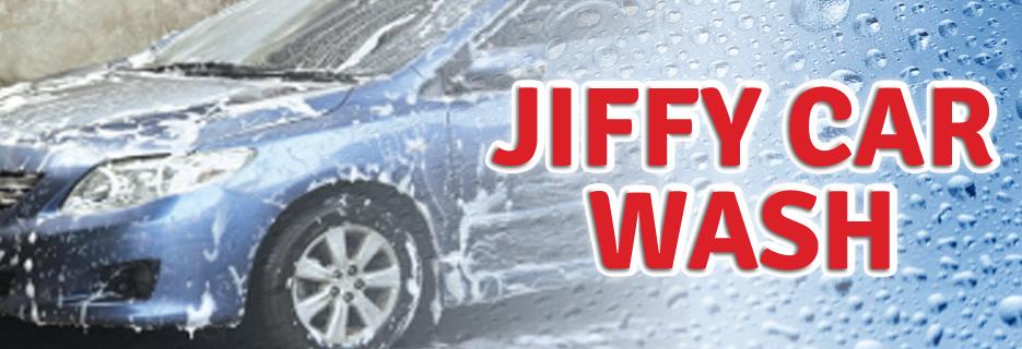 Jiffy Auto Wash banner Stamford, CT