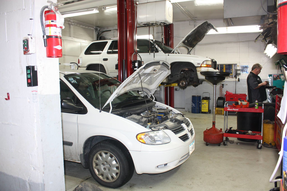ASE Certified technicians at J & K Automotive near Grimes, IA