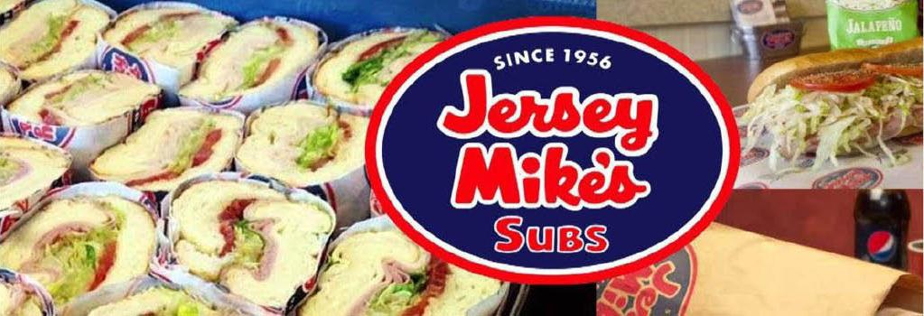 Jersey Mike's banner