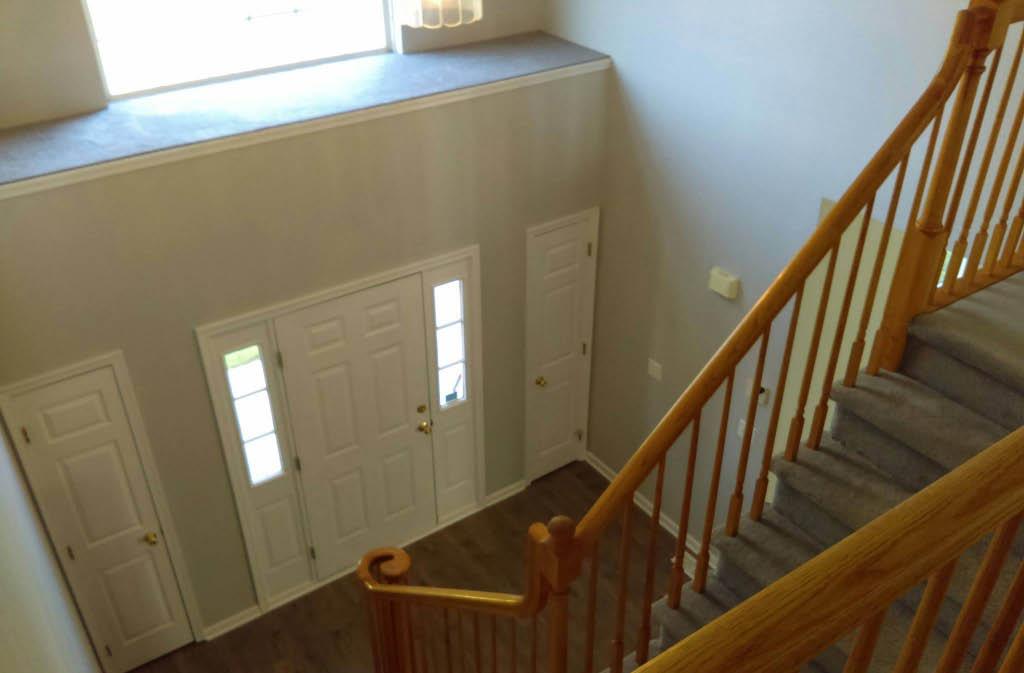 floors, windows, landings, repairs