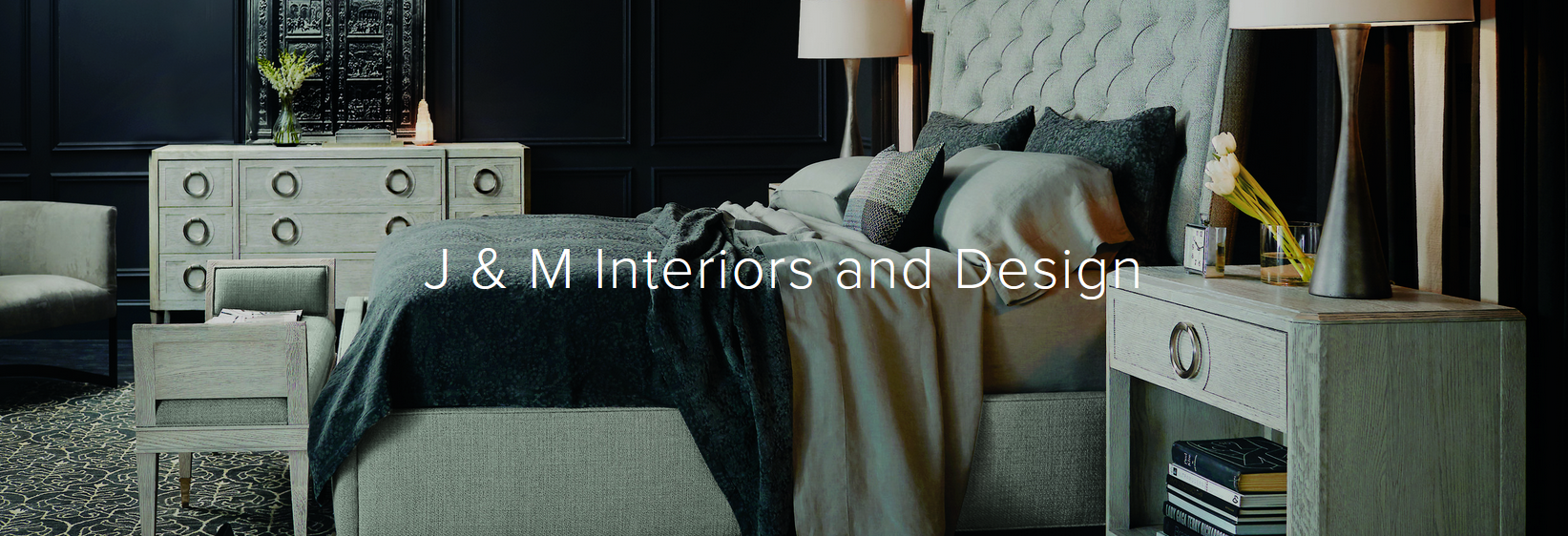 J & M Interiors and Design in Elyria, OH banner