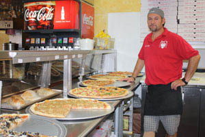 employee  at Joes Pizza Hulen in Fort Worth, TX