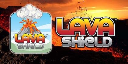 Lava shield manager special logo
