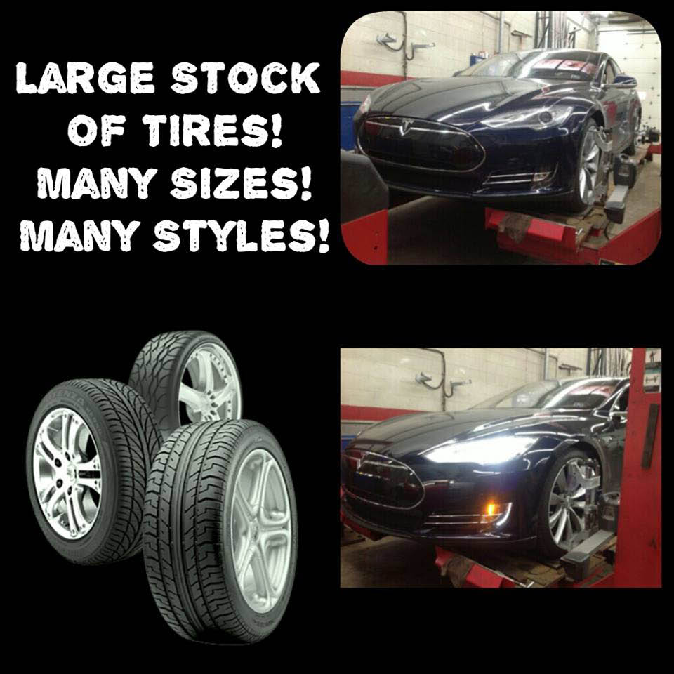 tire service, tire shop