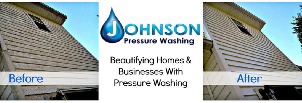 Johnson Pressure Wash Inc. in Raleigh NC banner