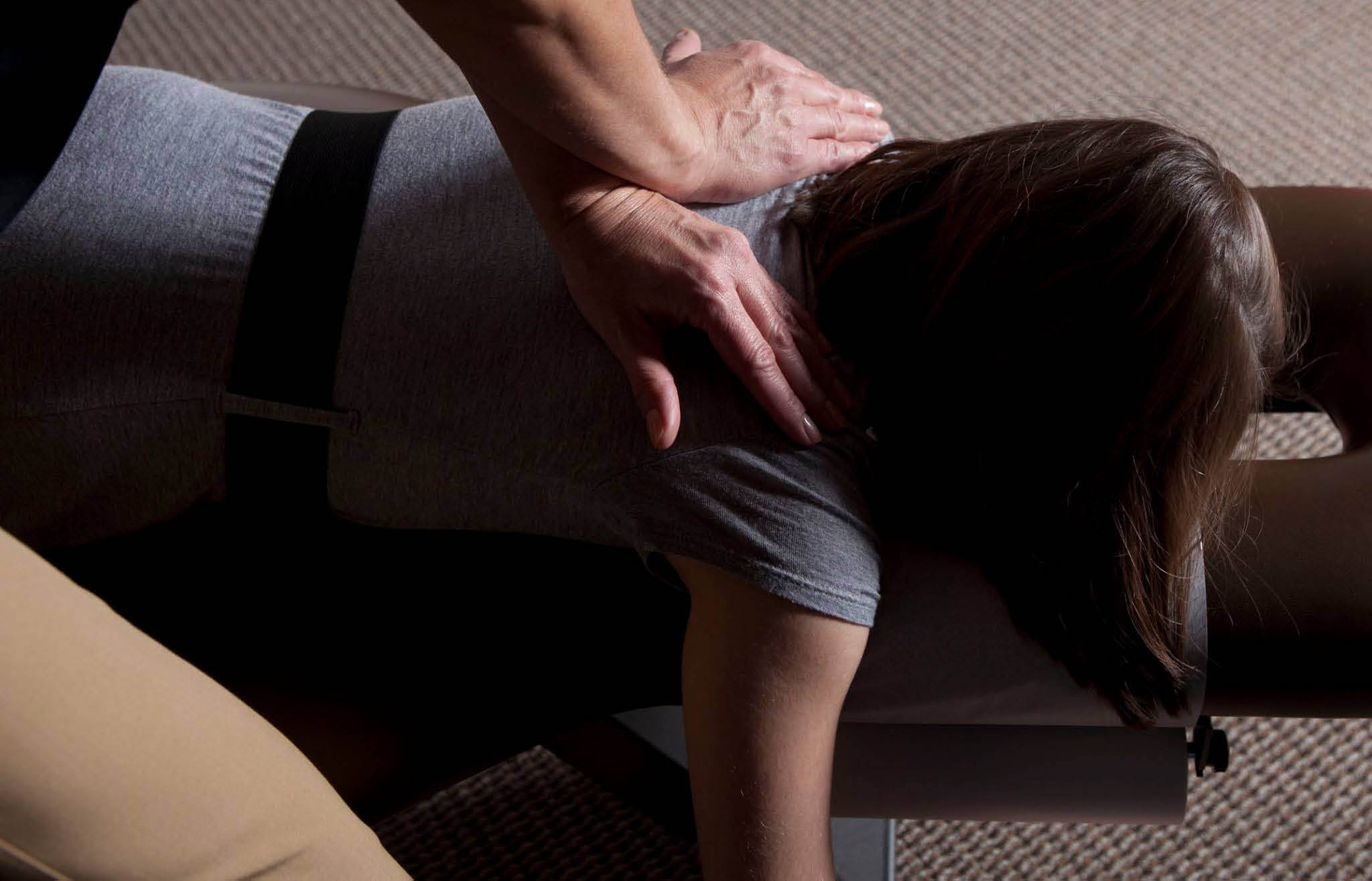 Picture of a Woman at The Joint ...the chiropractic place in Waukesha.