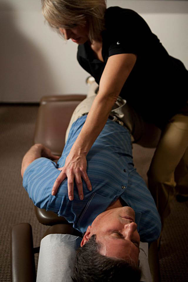 Picture of a man at The Joint ...the chiropractic place in Elm Grove.