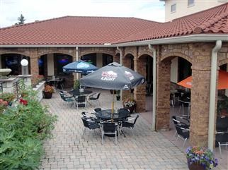 Enjoy pizza and authentic Italian cuisine on our outdoor patio