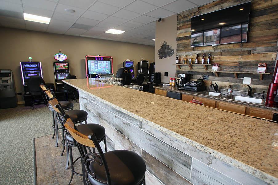 Premium bar available at Jokers Wild