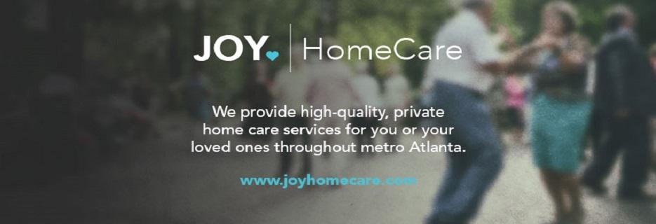 Joy HomeCare in Atlanta, Georgiabannner