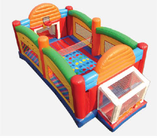 Bounce rentals and bounce parties in Harford County ultimate sports arena