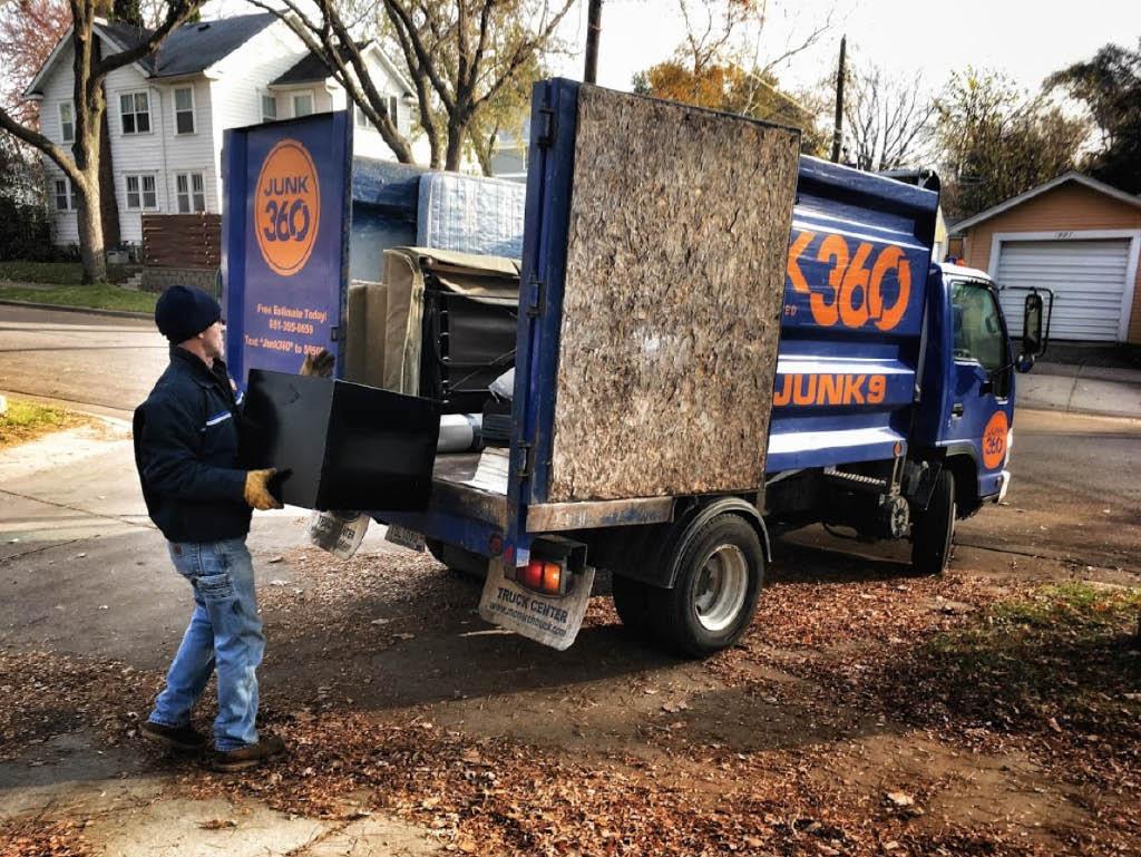 Junk 360 hauling truck
