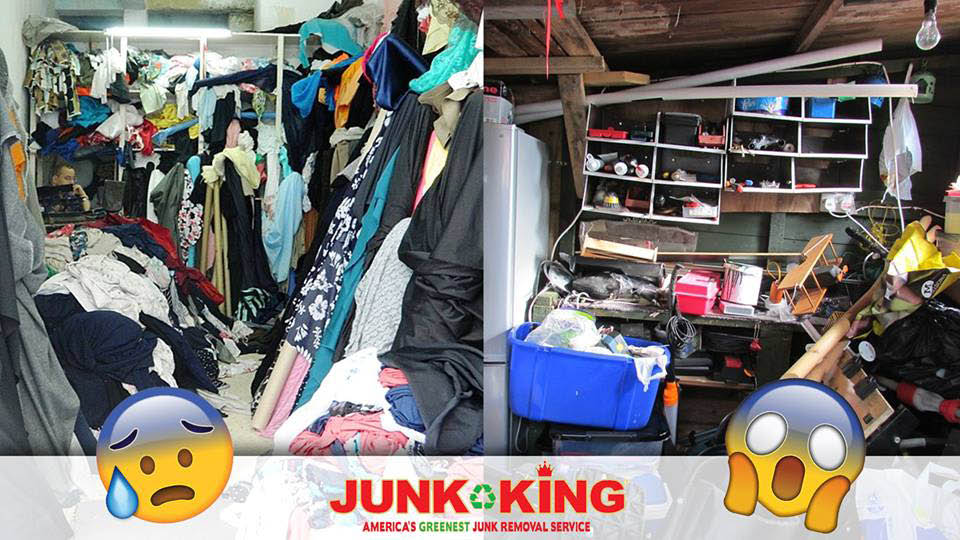 Too much junk? Junk King will haul it all from Edmond, OK