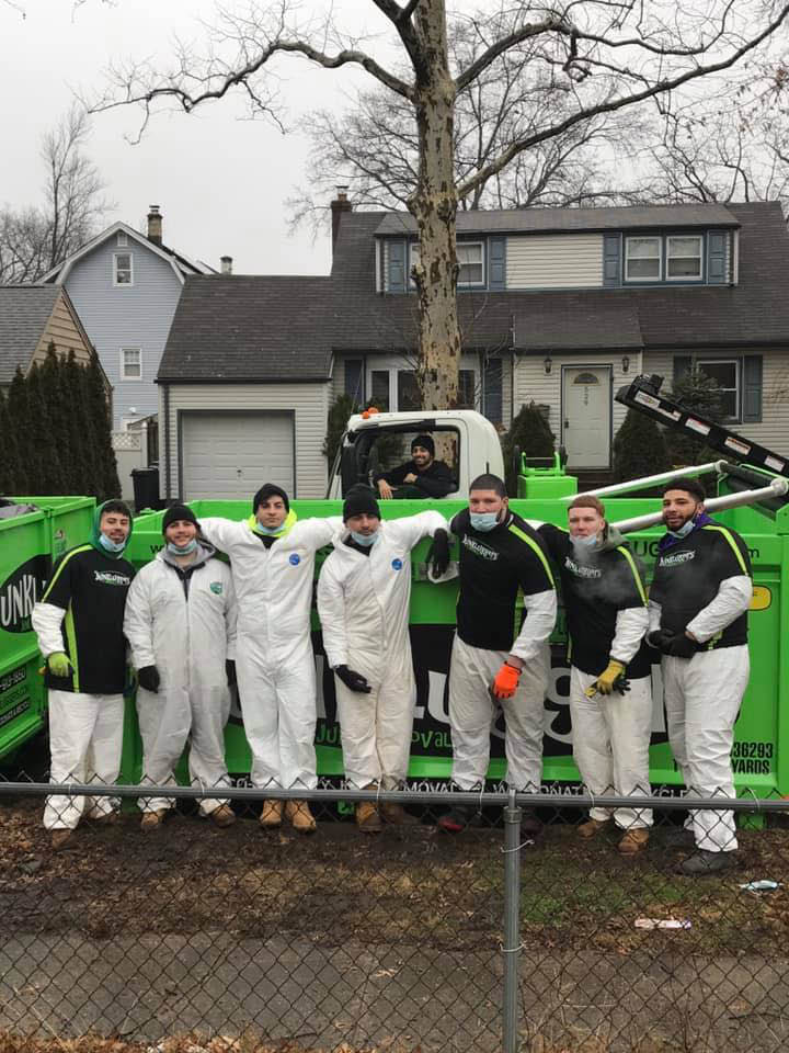 Junkluggers, bagster, garbage removal, ecofriendly waste management, furniture removal, movers, got junk, wm, itex, dumpster, trash removal, appliance removal, moving process, nj, ny, junk truck, cleanout, cleanout discount