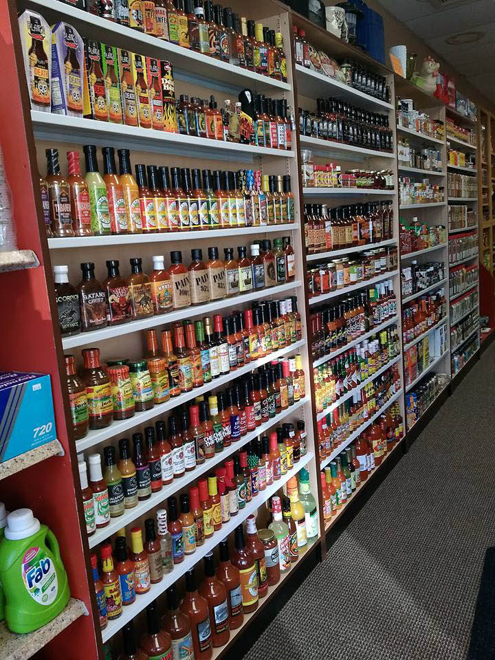 Just not salt and pepper spices, and sauces in West Allis