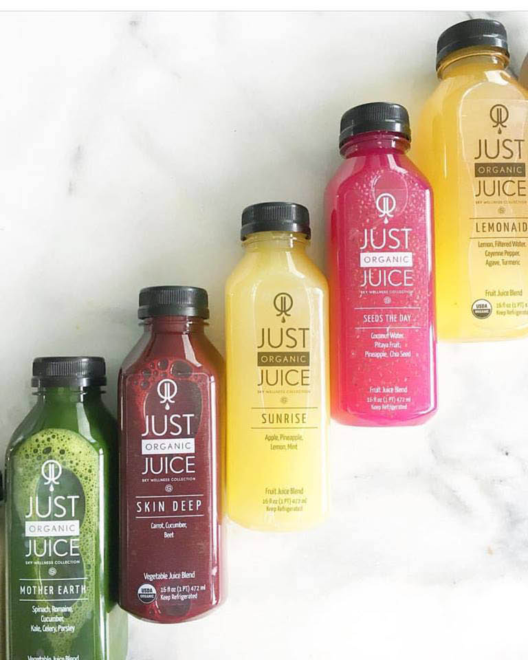 Just Organic Juice Coupon, Juice Cleanse coupons, Acai Bowl Coupons, Smoothie Coupons.