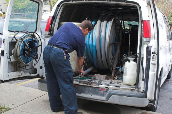 K & T Carpet Cleaning Services, LLC truck mounted cleaning system.