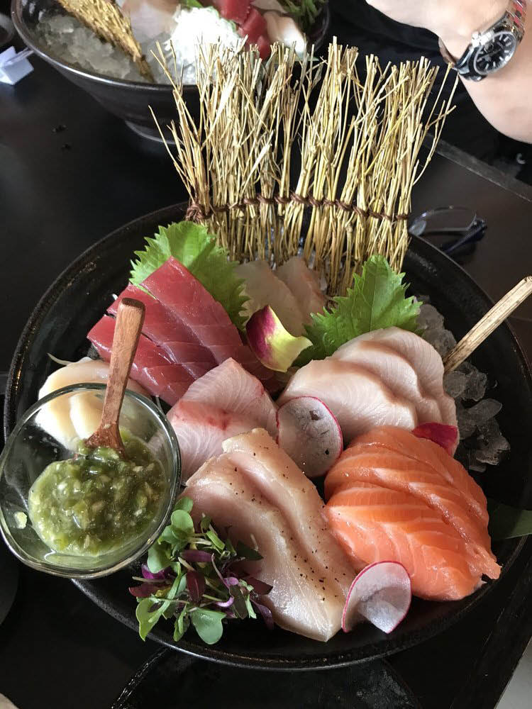 Japanese food, sashimi