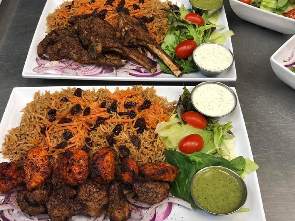 Kabob Shack food