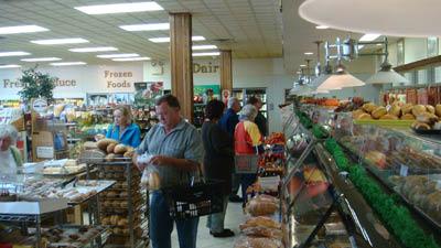 Kalinowski European Deli interior bakery