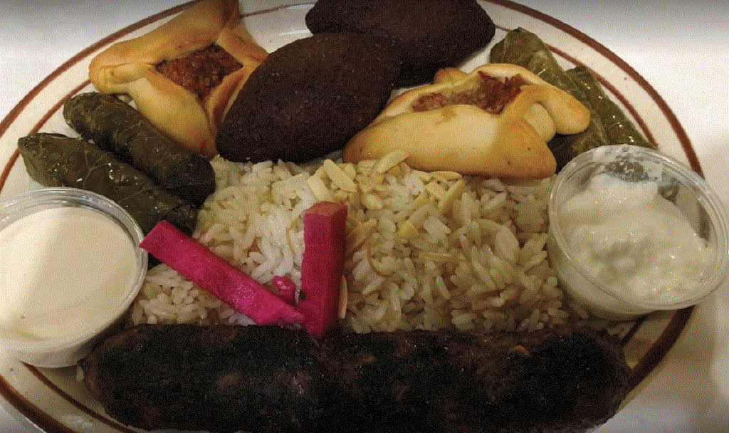 Lamb combo at Shish Palace in Auburn Hills, MI